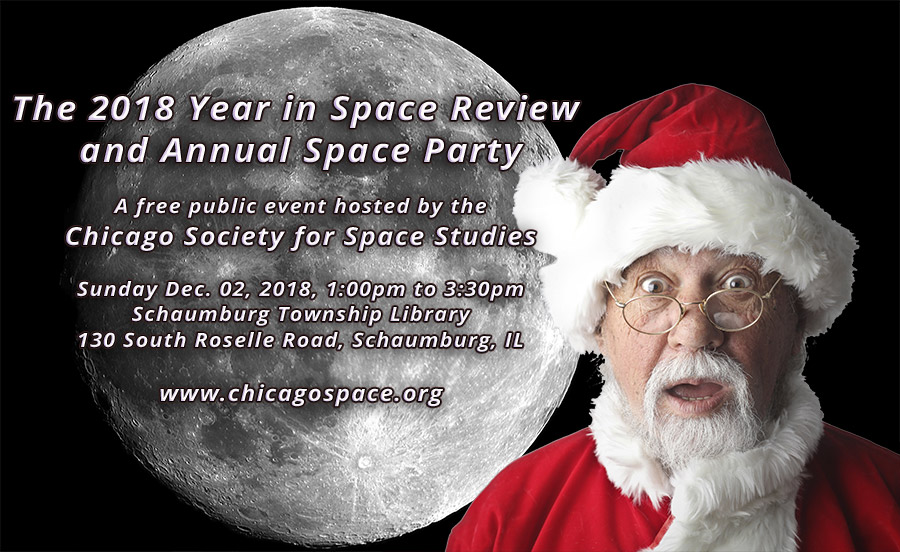 Chicago Society for Space Studies Annual Space Party